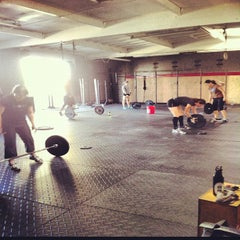 Photo taken at CrossFit Mission Gorge by Jesse M. on 11/24/2012