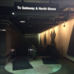 Photo taken at Port Authority Wood Street Station by Aaron on 6/7/2014