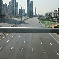 Photo taken at Sheikh Mohammed Bin Zayed Road شارع الشيخ محمد بن زايد by Hussain A. on 2/8/2014
