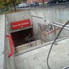 Photo taken at Cercanías 12 de Octubre by Annia H. on 11/17/2012