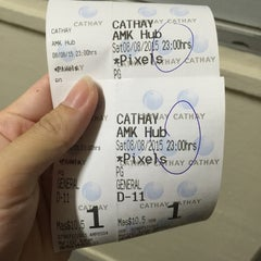 Photo taken at Cathay Cineplex by Strawberry J. on 8/8/2015