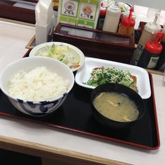 Photo taken at 松屋 高田馬場店 by にしむら on 3/26/2013