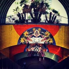Photo taken at North Hollywood MTA Metro Red Line Bike Lockers by ryan on 9/29/2012