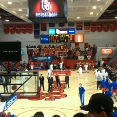 Photo taken at Carnesecca Arena by Pascal M. on 1/31/2013