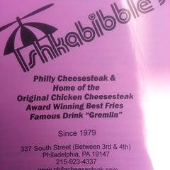 Photo taken at Ishkabibble's Eatery by IB on 5/12/2013
