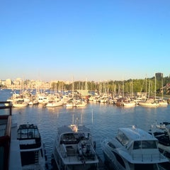 Photo taken at Granville Island Hotel by John H. on 8/19/2015
