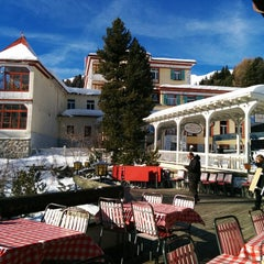 Photo taken at Schatzalp Panorama Restaurant by Markus W. on 1/25/2014