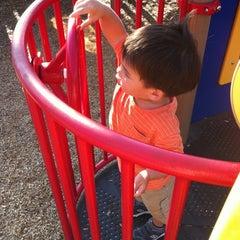 Photo taken at William Steinmetz Park by Sandy C. on 9/27/2012