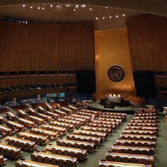 Photo taken at ONE UN New York by Yosef Y. on 5/28/2015