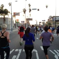 Photo taken at Hollywood Half Marathon & 5k / 10k by Shehulk123 on 4/5/2014