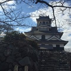 Photo taken at 長浜城 (長浜城歴史博物館) by Miyu on 12/28/2015
