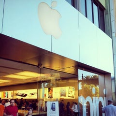 Photo taken at Apple Store, Town Square by 24kMedia on 2/17/2013
