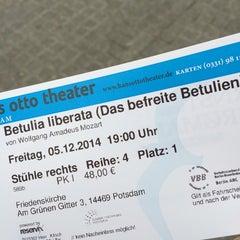 Photo taken at Hans Otto Theater by klischnet on 11/28/2014