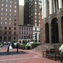 Photo taken at Connecticut's Old State House by Nicole O. on 5/2/2012