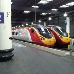 Photo taken at London Euston Railway Station (EUS) by chris m. on 5/23/2012