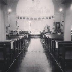 Photo taken at Gereja Santa Theresia by Laurentius V. on 5/16/2015