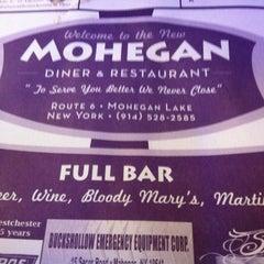 Photo taken at Mohegan Diner by John on 1/10/2013