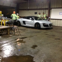 Photo taken at RSVP HAND CAR WASH & DETAIL CENTER by Himmad K. on 9/7/2013