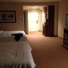 Photo taken at Hilton Garden Inn by Erin on 10/21/2012
