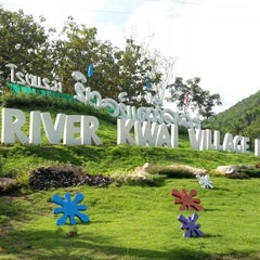 Photo taken at River Kwai Village Hotel Kanchanaburi by NooPing K. on 9/22/2012