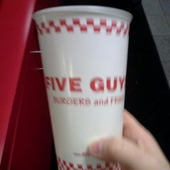 Photo taken at Five Guys by Jessica W. on 5/2/2013