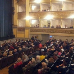 Photo taken at Teatro Sociale by Federico V. on 11/1/2011