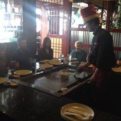 Photo taken at Saga Steakhouse & Sushi Bar by Karen on 4/13/2014