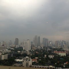 Photo taken at AVANI Atrium Bangkok by Pervez T. on 1/28/2013