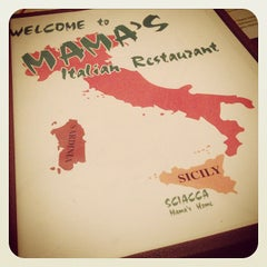 Photo taken at Mama's Italian Restaurant by Brandon N. on 8/3/2013