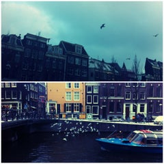 Photo taken at Amsterdam by GriZine on 1/20/2013