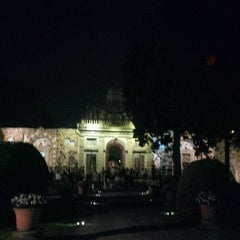 Photo taken at Villa Visconti Borromeo Litta by Fabio F. on 9/7/2014