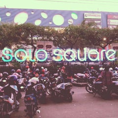 Photo taken at Solo Square by Nabila N. on 12/26/2012
