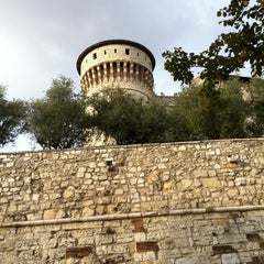 Photo taken at Castello di Brescia by Alberto on 9/30/2012