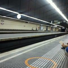 Photo taken at FGC Muntaner by Cristina R. on 10/5/2012