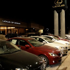 Photo taken at Lexus of Omaha by PerformanceAutoGroup on 2/2/2015