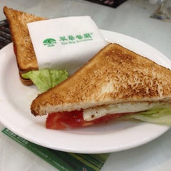 Photo taken at Tsui Wah Restaurant 翠華餐廳 by Yvette on 5/23/2014