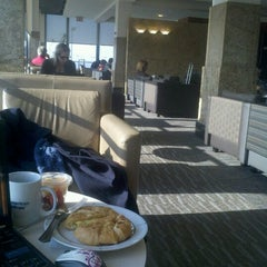 Photo taken at American Airlines Admirals Club by Barbara S. on 11/16/2012