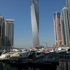 Photo taken at Dubai Marina Walk ممشى مرسى دبي by Halil D. on 10/25/2012
