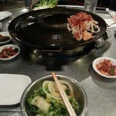 Photo taken at Honey Pig Gooldaegee Korean Grill by Jonathan C. on 2/16/2013