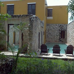 Photo taken at Hacienda Puerta Campeche by Ricardo A. on 6/9/2013