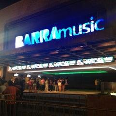 Photo taken at Barra Music by Priscila Araújo on 11/9/2012