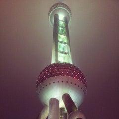 Photo taken at 东方明珠塔 | Oriental Pearl Tower by Vitaliy K. on 11/25/2012