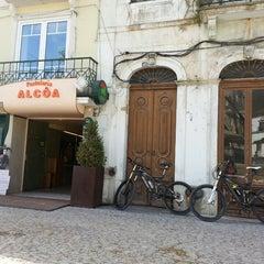 Photo taken at Pastelaria Alcôa by Nuno S. on 3/30/2013