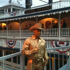 Photo taken at General Jackson Showboat by Lisa E. on 10/2/2012