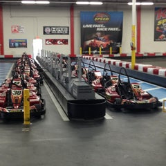 Photo taken at K1 Speed by Lee P. on 12/23/2012