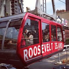 Photo taken at Roosevelt Island Tram by Cassie K. on 8/26/2013