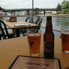 Photo taken at Geno's Chowder and Sandwich Shop by Julie F. on 6/28/2013