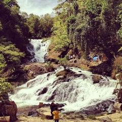 Photo taken at Datanla Waterfall by Ivan K. on 2/10/2013
