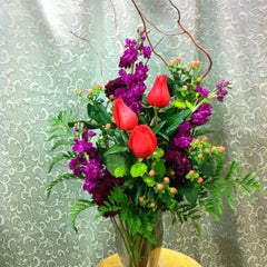 Photo taken at ROSExpressions Flowers by Caitlin K. on 11/2/2012