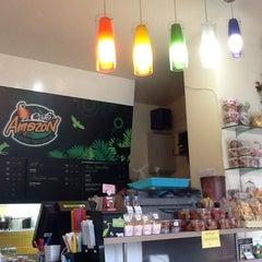 Photo taken at Café Amazon (คาเฟ่ อเมซอน) by ❀Ϣεłçöʍε_ʍϔ_ϜʀϊεηÐ❀ (. on 11/4/2012
